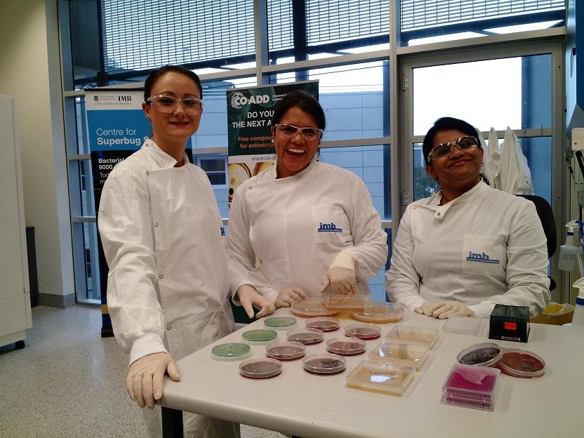 CO-ADD team microbiology